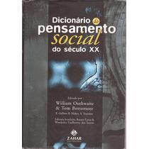 Dicionário Dp Pensamento Social Do Século Xx 1996.