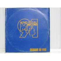 Novo Festival Record Mpb 1991 Lp Line Records 1992