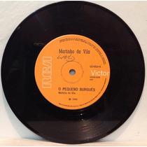 Compacto Vinil Martinho Da Vila - O Pequeno Burguês - 1969 -