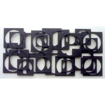 -escultura De Parede-decoração Moderna.mod.166-1,20x60