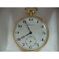 Relógio De Bolso Longines Ouro18k Jr Joalheiro.