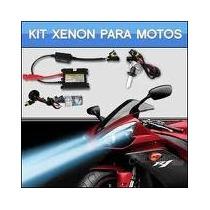 Kit Xenon De Moto Kawasaki Lead Biz Pop Cbr Ninja Bmw Harley