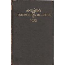 Testemunhas Jeová Torre Vigia Raro Anuario 1980 Brasil Etc