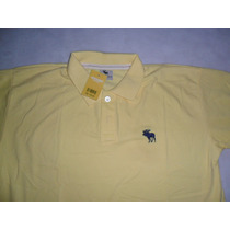 Camisa Polo Abercrombie And Fitch Amarela M Lances A 1,