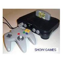 Nintendo 64 + Jogo De Brinde - Somos Loja Pode Retirar !!