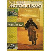 Duas Rodas N°58 Rallye Paris Dakar Motos 125cc