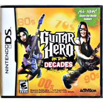 Guitar Hero On Tour Decades Original Nintendo Ds Lacrado