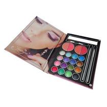 Kit Maquiagem 3d Jasmyne Agenda C/blush Sombras E Lápis