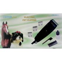 Tosquiadeira Osterstar De Tosa P/ Cães, Cavalos, Gatos