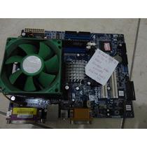 Placa Mae Asrock K7vm3 Processador Memoria Veja Anuncio