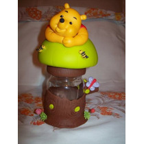 Lembrancinha De Mesa Ursinho Pooh - Biscuit