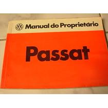 Manual Proprietário Passat Ts Ls Lse 1982