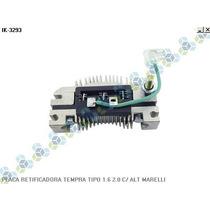 Placa Retificadora Tempra Tipo 1.6 2.0 C/alternador Marelli
