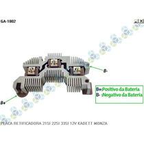 Placa Retificadora Gm Monza 120a - Gauss