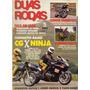 Duas Rodas N°221 Cg 125 Ninja 1100 Yamaha Virago 535 Wr 250