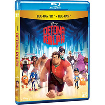 Blu Ray Blu-ray Detona Ralph (3d+2d) 2 Discos