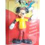 Antigo Boneco Do Mickey Articulado Anos 70!!! Estrela Atma