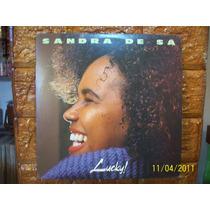 Vinil Sandra De Sá Lp Lucky! - Com Encarte
