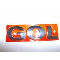 Emblema Adesivo Nome Vw Gol Cromado