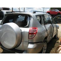 Sucata Toyota Rav 4 4x4 Ano 2010 Para Retirada De Peças