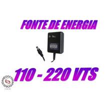 Fonte Calculadora Casio Hr-8 Hr-100 E Hr-150 6v 500ma Bivolt