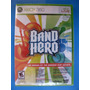 Band Hero - Xbox 360 - Lacrado - Pronta Entrega !!!