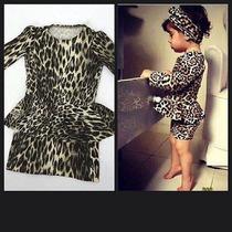 Conjunto Vestido Infantil Tal Mãe Tal Filha De Oncinha