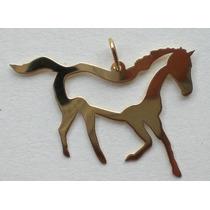 Pingente Cavalo Araguaia Ouro Amarelo 18k 750