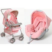 Carrinho Berço Bebê Conforto Cadeira Travel System Galzerano