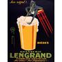 Bebida Sapo Cervejaria Lengrand Poster Repro