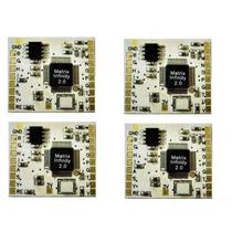 Chip Matrix Dourado Playstation 2 + Esquema Desbloqueio Ps2
