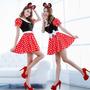 Halloween - Vestidinho Minnie Sexy - Fantasia - Pp P