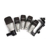 Kit Microfone Bateria Samson Dk5 Na Cheiro De Música Loja !!