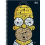 Caderno Universitário Capa Dura 10x1 Simpsons 200fls