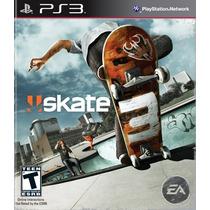 Skate 3 Playstation Ps3 - Sk8 Lacrado Envio Imediato