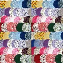 Circulos Cortados Para Seu Trabalho De Fuxico/patchwork 7,5c
