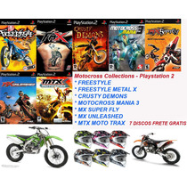 Motocross Collection - Playstation 2 - Frete Gratis.