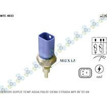 Sensor De Temperatura Palio 1.0 1.5 98/... 3 Terminais - Mte