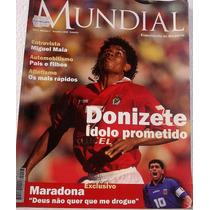 Revista Mundial - Outubro 1996 - N°7 Donizete Ídolo Prometi
