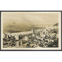 Postal Antigo 1908 Panorama De Copacabana Rio De Janeiro