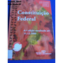 Livro Constituição Federal Edição 6 Atualizada 2001 D3