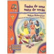 Livro Sonho De Uma Noite De Verão Editora Scipione Adaptação