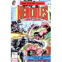 Hércules Libertado Nº 9: O Segundo Dilúvio - Ebal - 1977