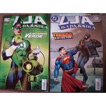 Lja Liga Da Justiça Nºs 9 Ao 63 Ed. Panini