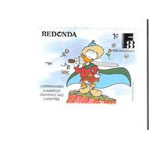 Lindo Selo De Redonda - Pato Donald - Vejam A Foto !!!
