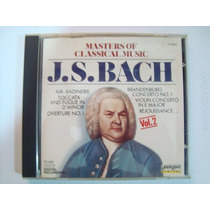 Cd J.s.bach (master Of Classical Music) Importado