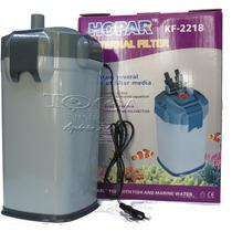 Filtro Canister Hopar 2218 1200 L/h 25w Completo Aquario