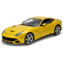Ferrari F12 Berlinetta Hot Wheels Elite 1:18 Amarelo X5475