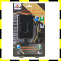 Adaptador Universal P/ Controles Ps3 , Xbox 360 , Pc E Ps2