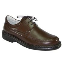 Sapato Antistress Pelica Marrom Calçados Frete Grátis